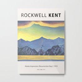 Rockwell Kent - Alaska Impression (Resurrection Bay), 1919 Metal Print