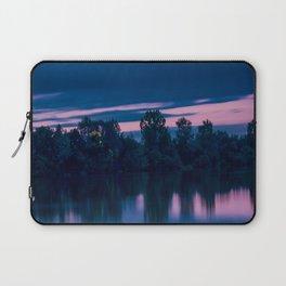 Dredging lake in Baden-Wurttemberg Laptop Sleeve