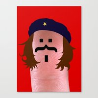 che Canvas Prints featuring che by Panic Junkie