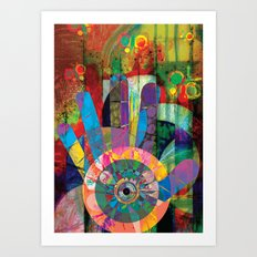A View Of The Music Within My Soul Art Print