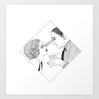 I put a spell on you Art Print
