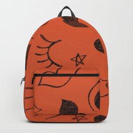 eyelash ,lips and heart  Backpack