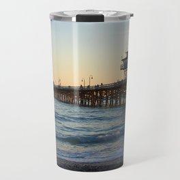 San Clemente Pier at sunset Travel Mug