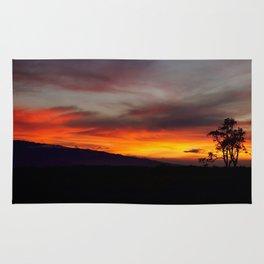 Sunset over Hualalai Rug