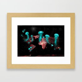 Jellyghosts Framed Art Print