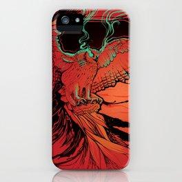 Owl Fury iPhone Case