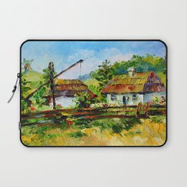 House in the village # 3 Laptop Sleeve