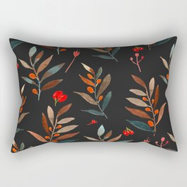 dark leaves Rectangular Pillow