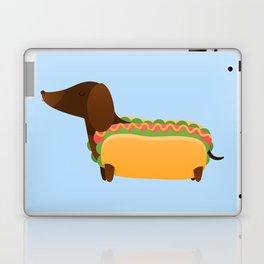Wiener Dog in a Bun Laptop & iPad Skin