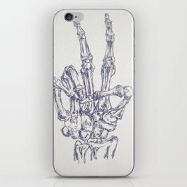 Bony Peace iPhone Skin