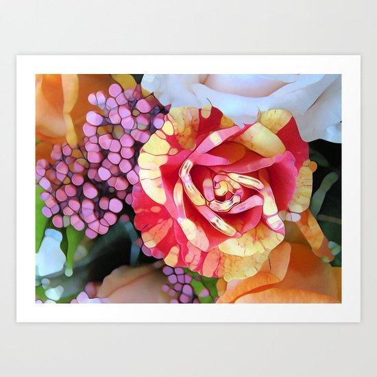 Hocus Pocus Rose Art Print