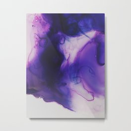 Violet Aura Metal Print