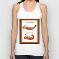 smaug Tank Tops featuring Whiny Smaug by Rshido