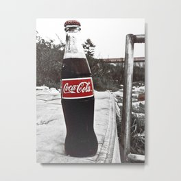 There's always Coke Metal Print