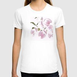 Dogwood Tree Flowers-pink T-shirt