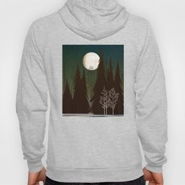 Into The Cold Winter Woods Hoody