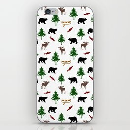 Moose Bear iPhone Skin