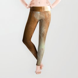 In the Company of Myself: Abstract #5 Leggings