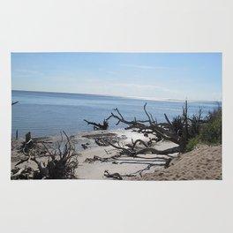 The Boney Trees on the Beach Rug