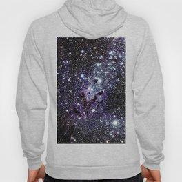 The Eagle Nebula : Pillars of Creation Deep Dark Blues & Purples Hoody
