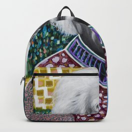 Einstein Painting Backpack