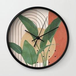 Nature Geometry V Wall Clock