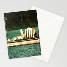 Boats on the Dock Stationery Cards