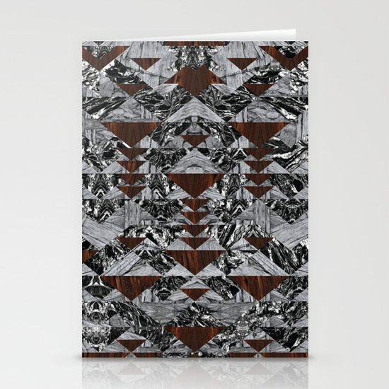 Wood Galaxy Stationery Cards