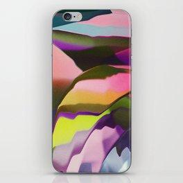 Growing colors iPhone Skin