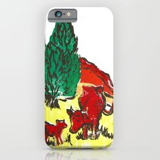 Big moo, wee moo (colored version) Slim Case iPhone 6s
