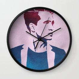 Brendon Urie Gradient Print Wall Clock