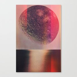 Moon Lake Canvas Print