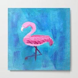 Flamingo # 3 Metal Print