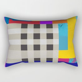 The queen in the color Rectangular Pillow