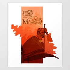 Macbeth Art Print