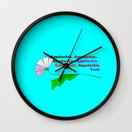 My Ode to Beautiful Appalachia! Wall Clock