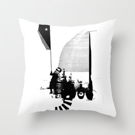 Capture the Flag ... Throw Pillow