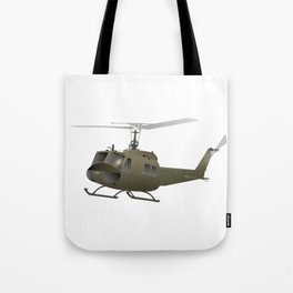 UH-1 Huey Helicopter Tote Bag
