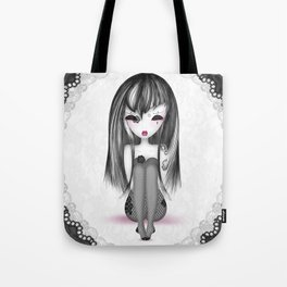 éMo Romantik Gothik 'Dentelle' Tote Bag