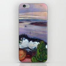 Train Smoke by Edvard Munch iPhone & iPod Skin