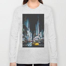 New York city night Long Sleeve T-shirt