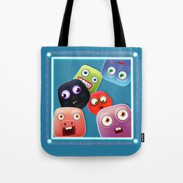 Glutton Jelly Monsters - all Tote Bag