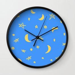 Daytime PJs Wall Clock