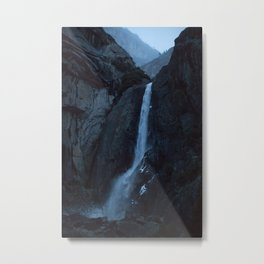 Lower Yosemite Falls Metal Print