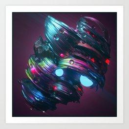 ____NEGATIVVE_LΛΛNDSCAPE_017 Art Print