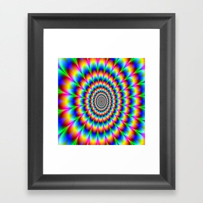Optical dream Gerahmter Kunstdruck