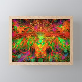 The Flying Shaman (Tribal Zest) Framed Mini Art Print
