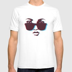 See you in 3D Mens Fitted Tee White SMALL