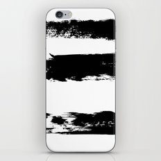 Brush 02 iPhone & iPod Skin