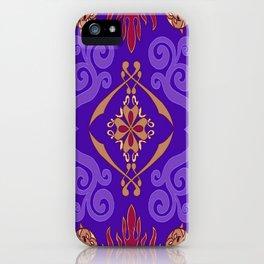 Aladdin Purple Magic Carpet iPhone Case